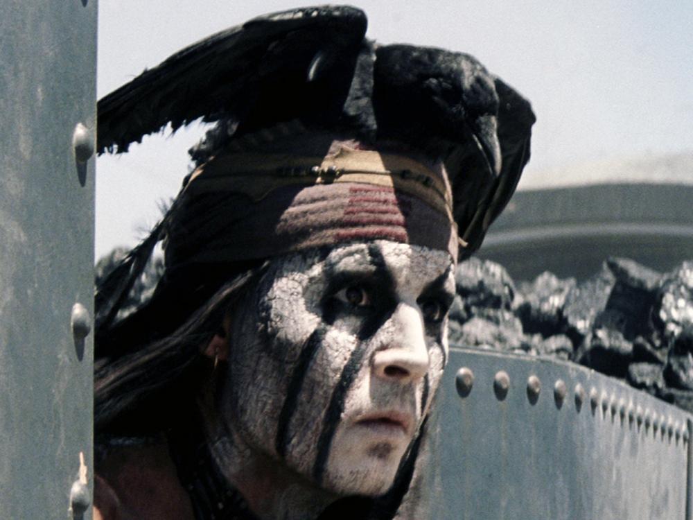 Johnny Depp as Tonto in