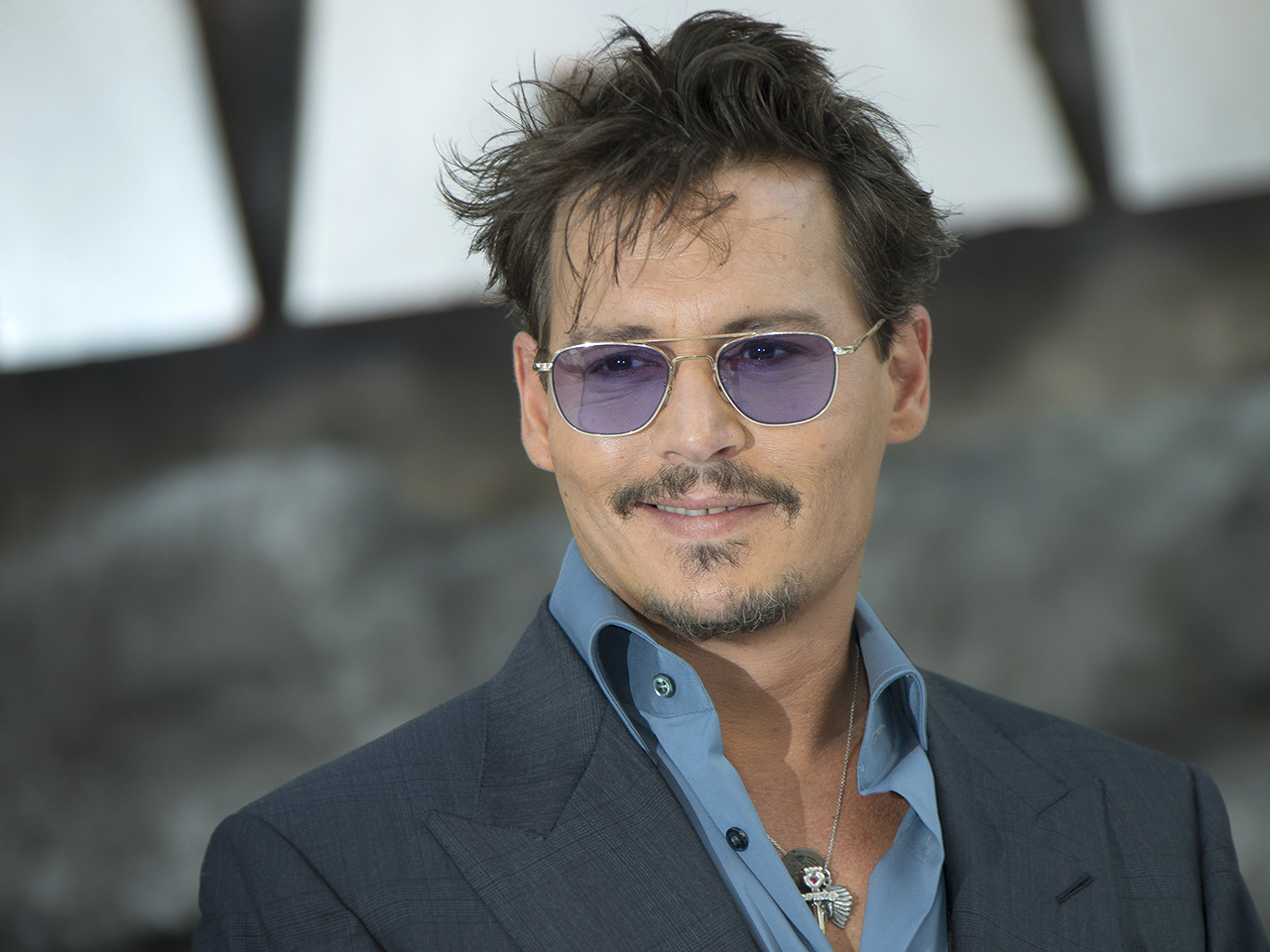 Johnny Depp arrives at a central London cinema for the UK premiere of The Lone Ranger in Leicester Square, Sunday, July 21, 2013. (Photo by Joel Ryan/...