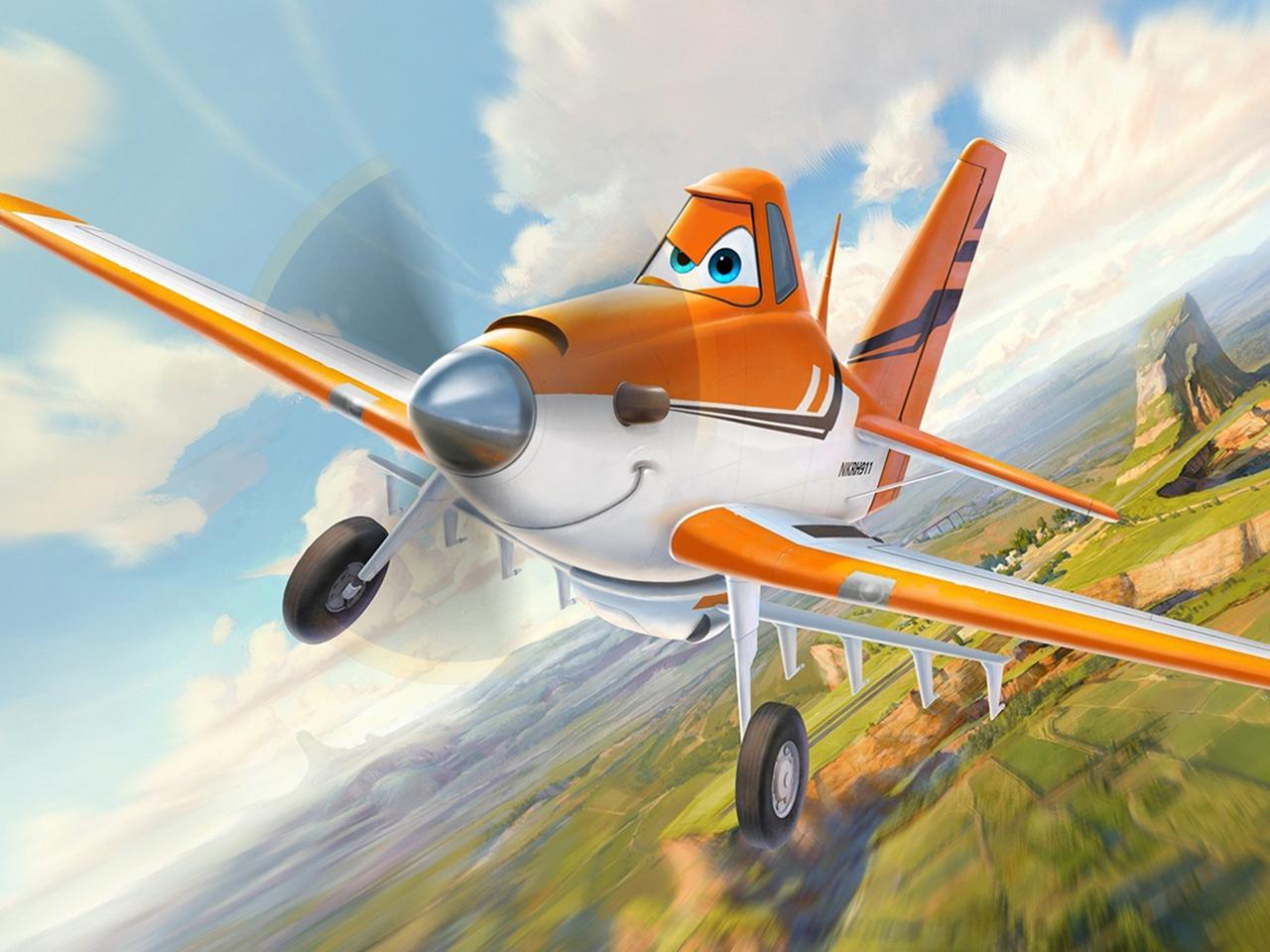 Dusty Crophopper from Walt Disney Pictures' Planes (2013)