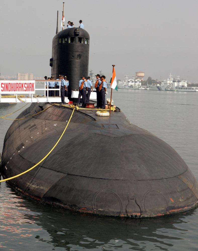 Kamal Kishore   ReutersIndian Navy Submarine