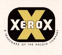 1949 Xerox logo