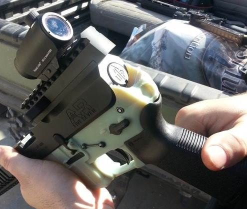 A 3D printer produced this gun, which managed to shoot six times before falling apart.