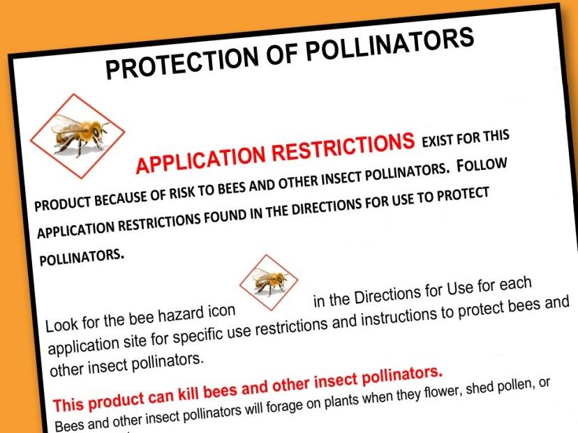 Image: Pesticide label