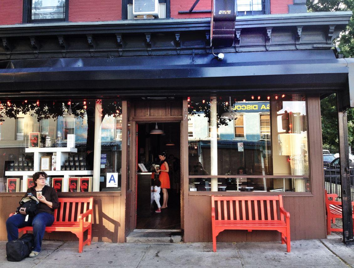 Gorilla Coffee exterior, Brooklyn, NY