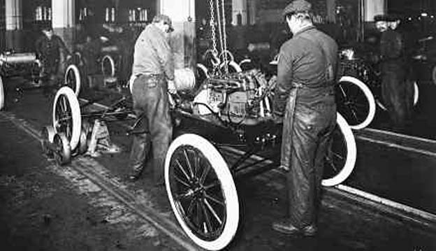 Henry Ford paid his workers a princely $5 a day in hopes that they might be able to afford a Model T of their own. The community group is raising money to save the plant.
