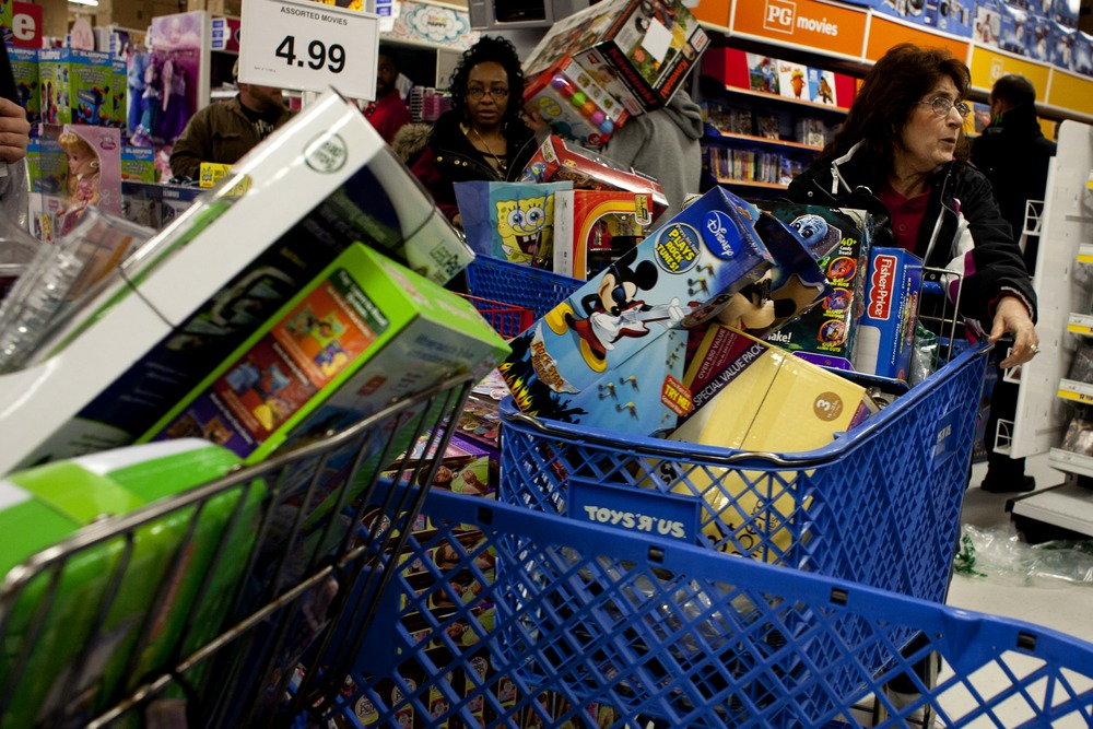 At least we won't be seeing any of this behavior until at least Thanksgiving. Retailers are already talking up their holiday offers with 120 days to g...
