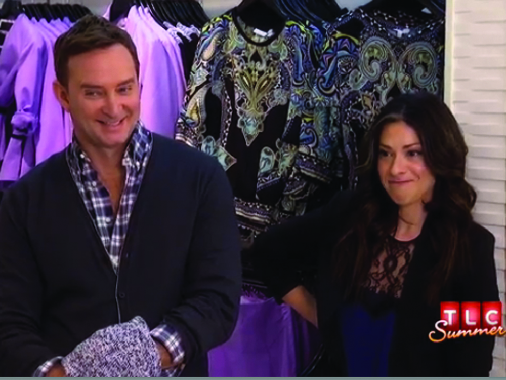 Image: Clinton Kelly and Stacy London on