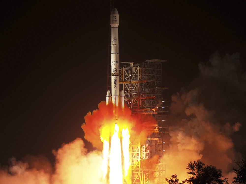 Image: Chang'e launch
