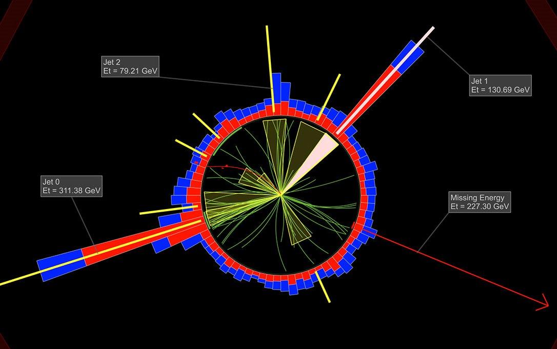 Image: Hypothetical dark matter detection
