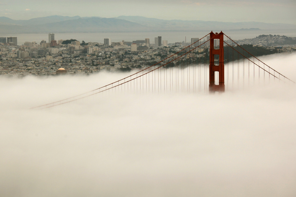 Somewhere underneath all that fog is one of the nation's hottest real estate markets, according to Zillow.