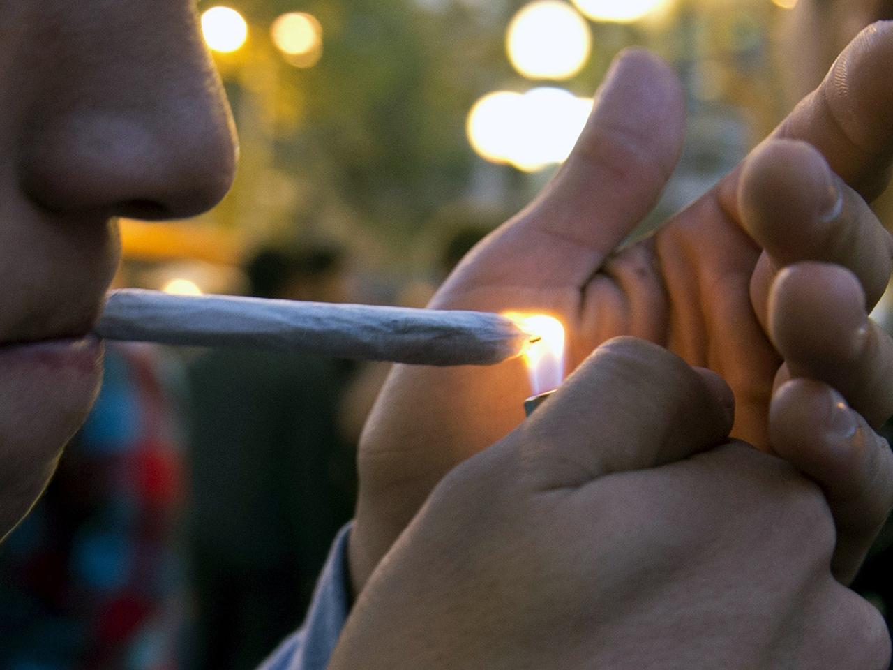 marijuana smoker
