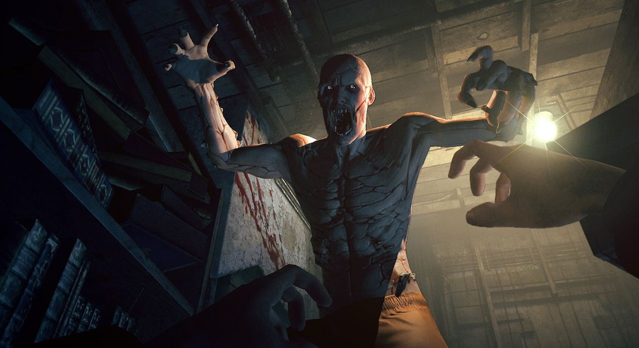 If cowering in fear in a hyper-realistic virtual insane asylum while nightmarish monsters hunt for you, you can't get much better than