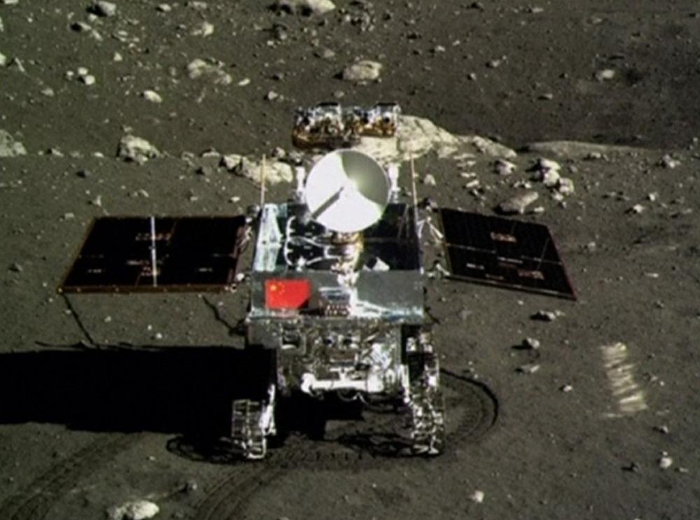 Image: Yutu rover