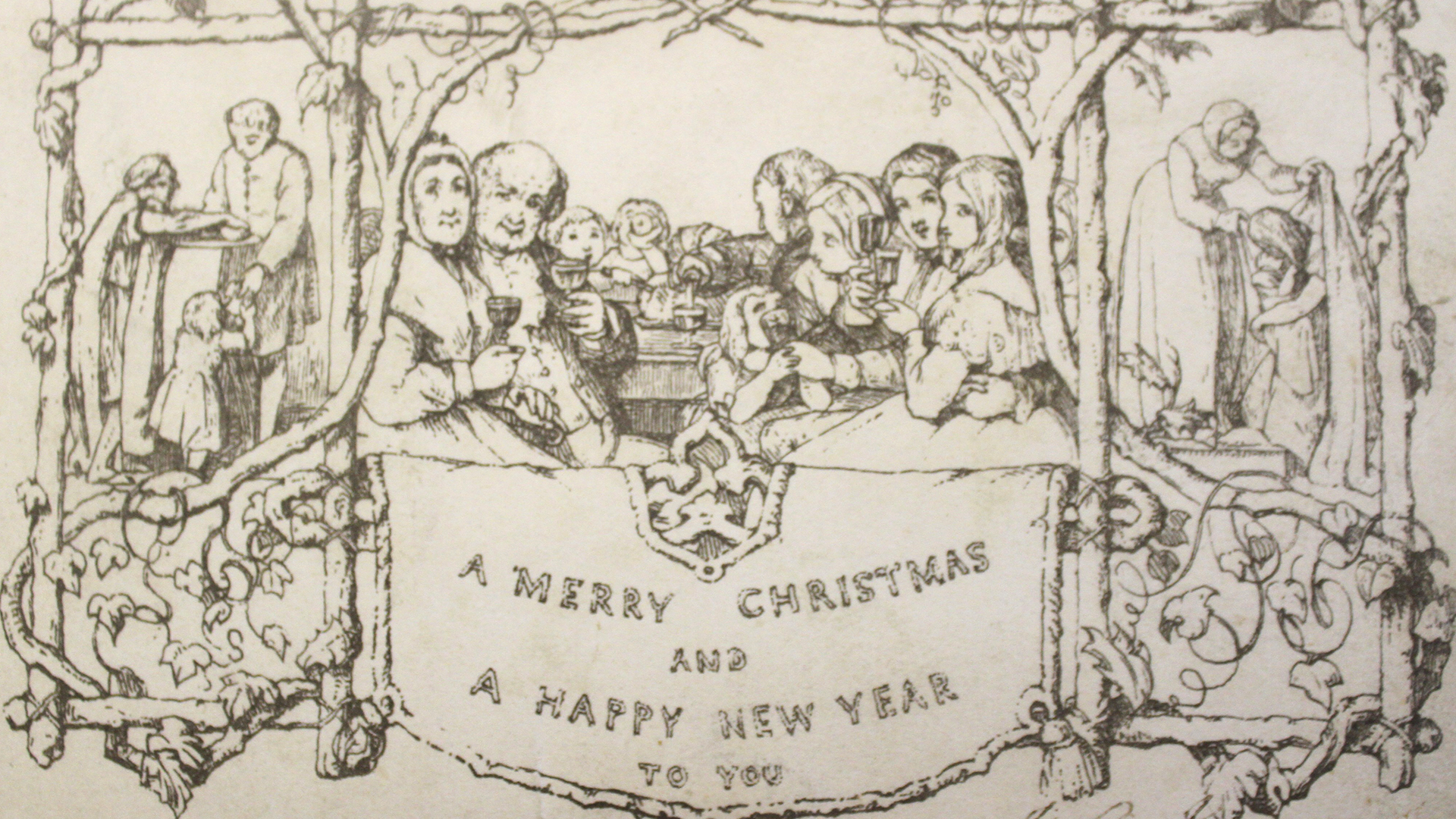 One of world\'s first Christmas cards sells for over $6,800