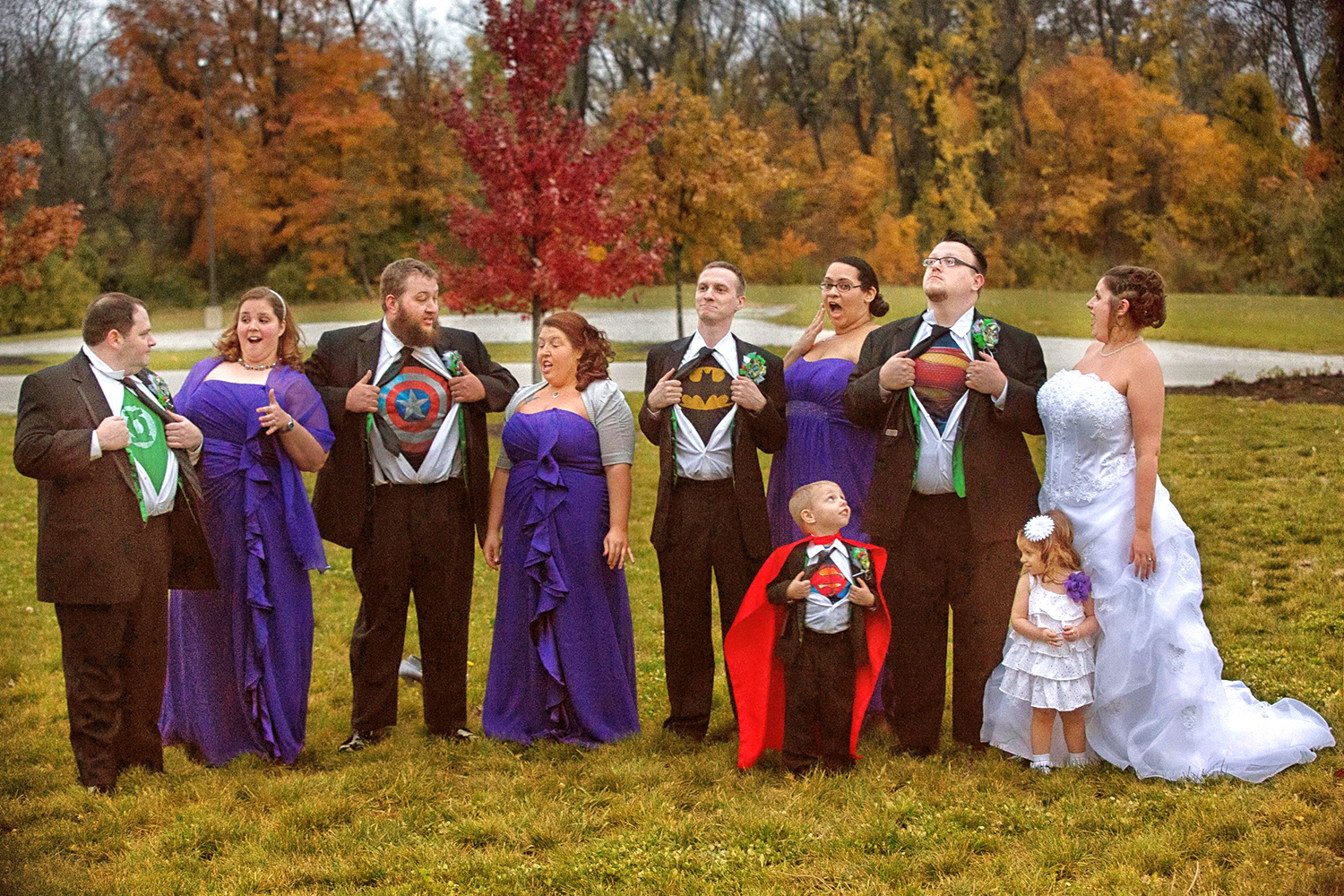 Man Surprises Wife With Dream Geek Wedding For 10th Anniversary