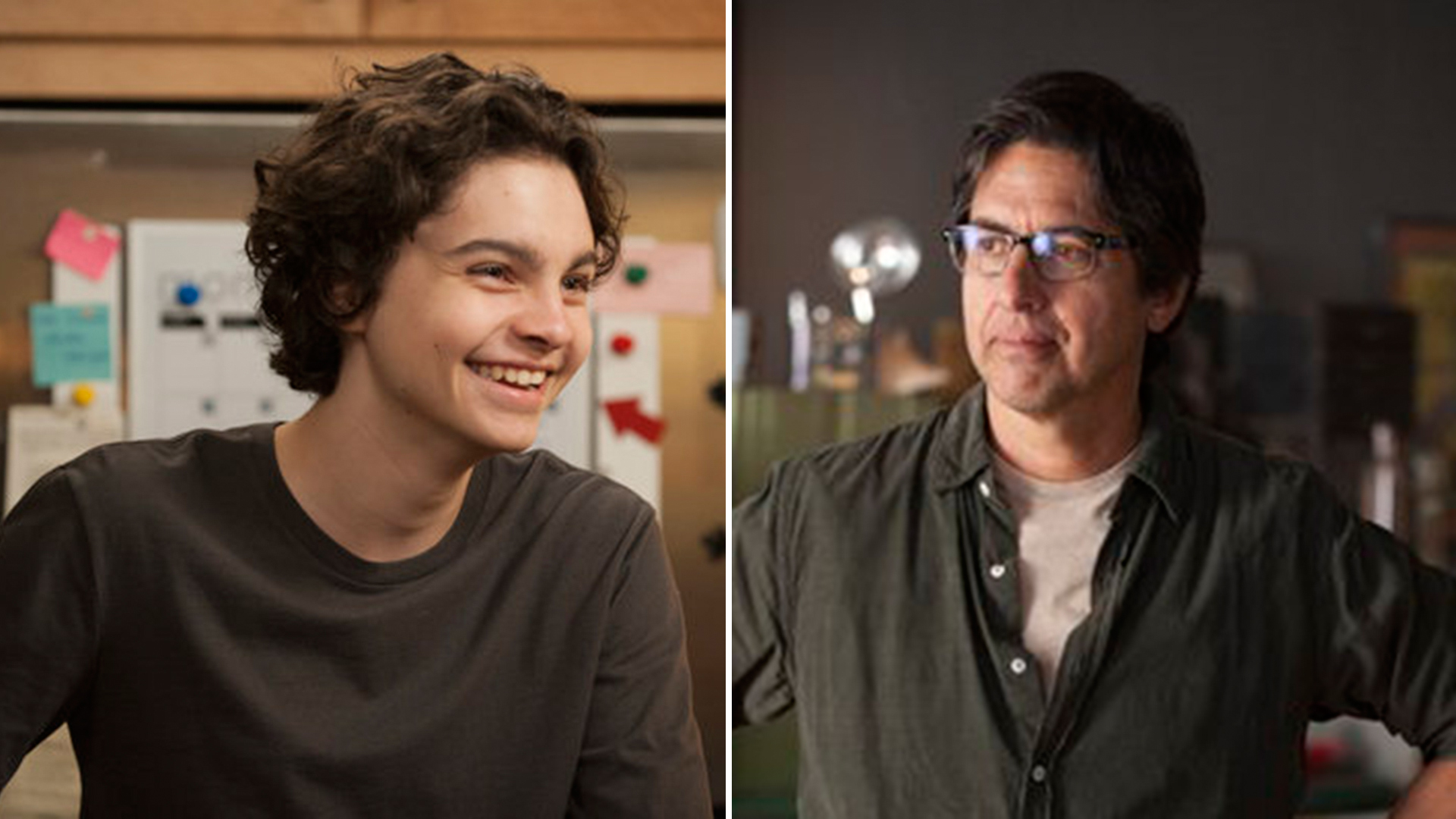 Ray Romano and Max Burkholder in