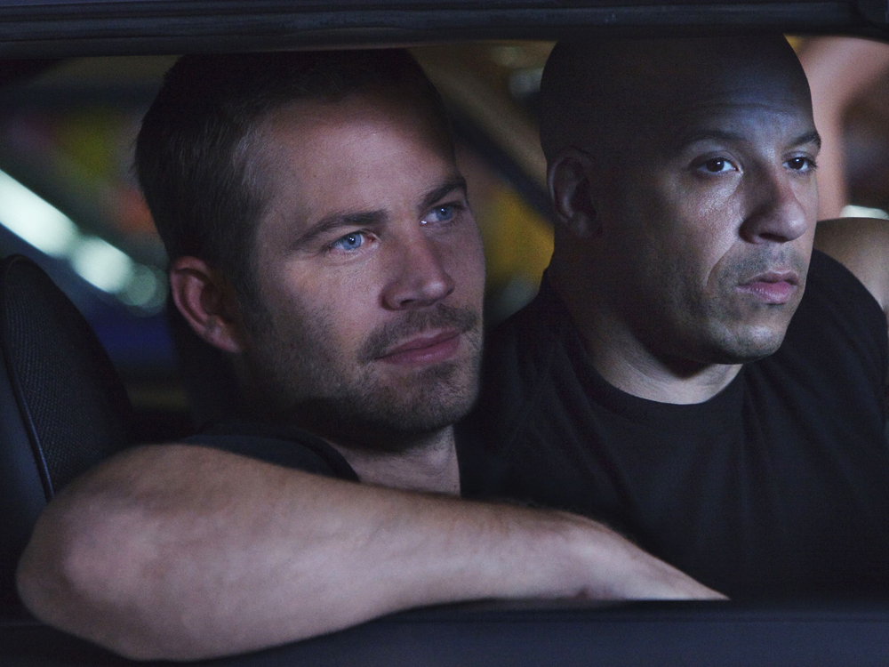 Fast & Furious 5 - Paul Walker and Vin Diesel 'Fast & Furious 5' Film - 2011   (Rex Features via AP Images)