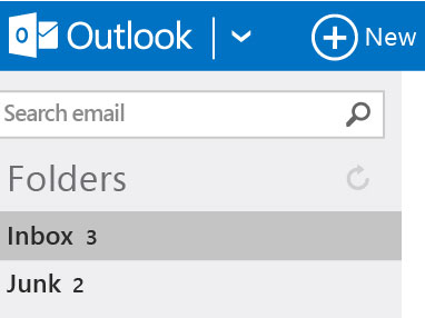 Microsoft's Outlook.com email service