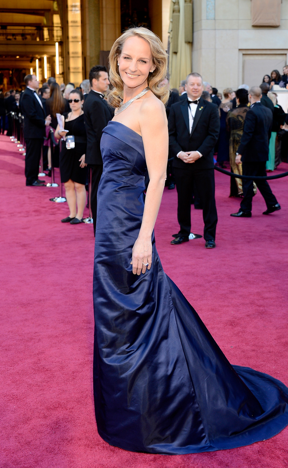 Helen Hunt opts for H&M on the red carpet
