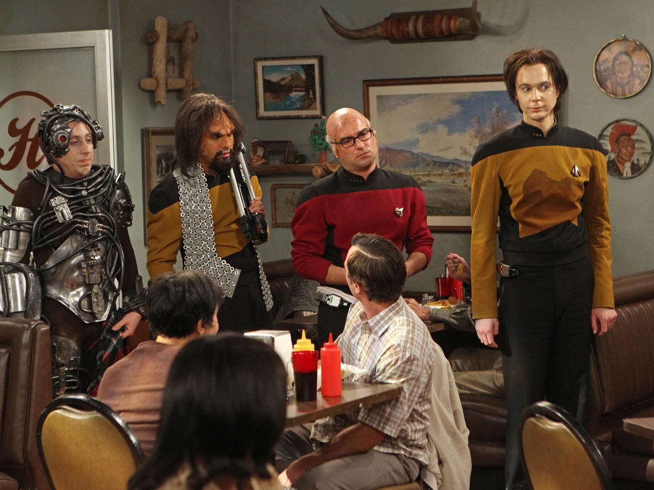 Big Bang Theory Star Trek