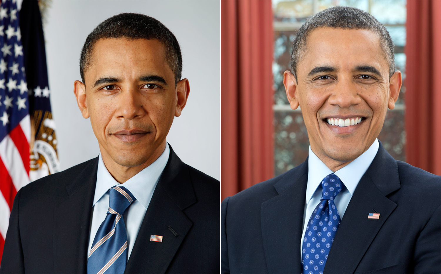 New portrait of President Obama unveiled - TODAY.com