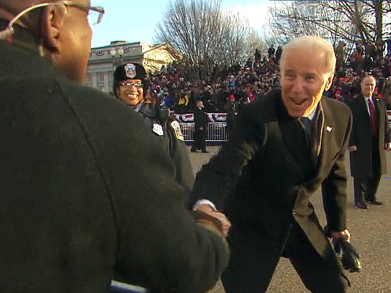 7 best Joe Biden faces during inauguration