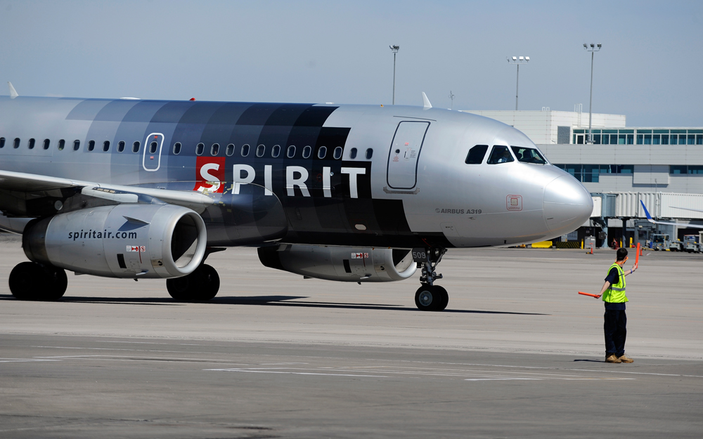 A Spirit Airlines Airbus A319