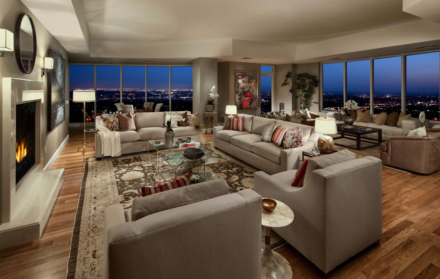 Listing los angeles penthouse offers ny living but with for Penthouses in los angeles