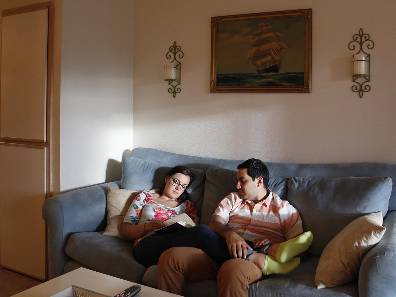 Karlee and Daniel Flores