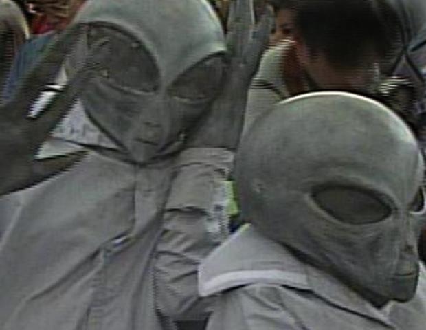 Image: Roswell UFO masks
