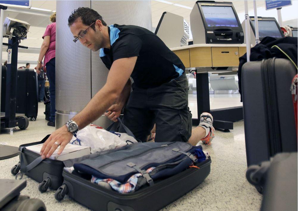 Luggage prep