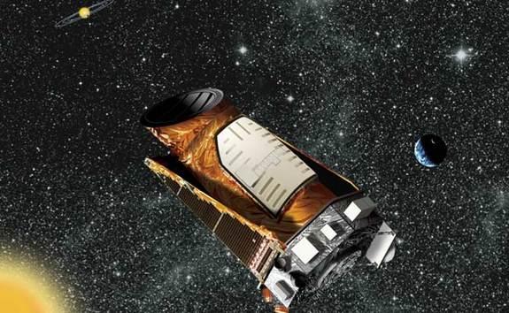 artist's interpretation of the Kepler observatory