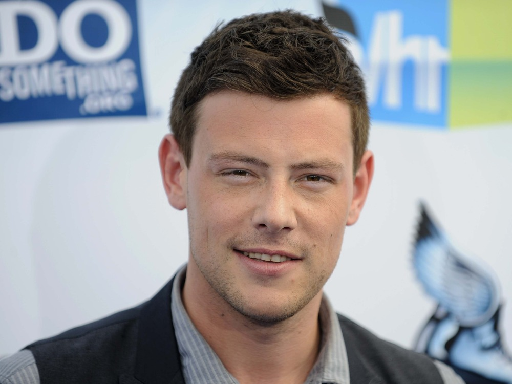 Actor Cory Monteith attended the