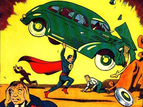 Image: Action Comics No. 1