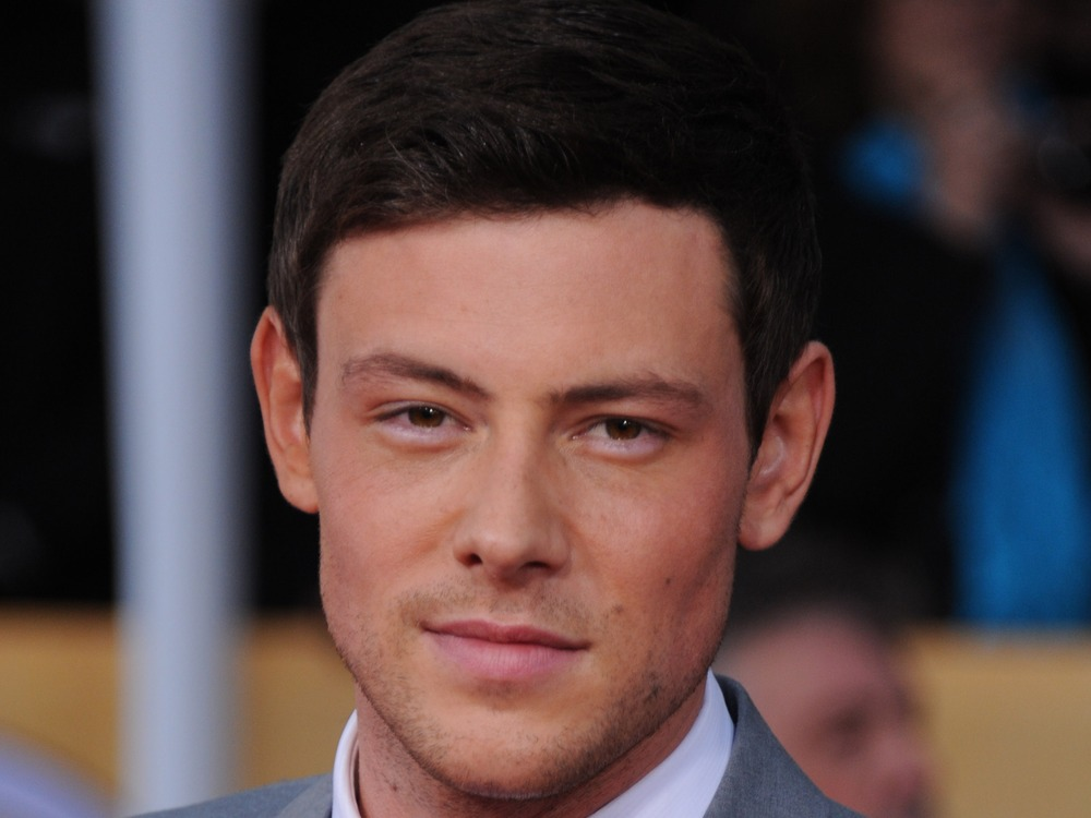 Actor Cory Monteith arrives at the Screen Actors Guild Awards in Los Angeles in January.