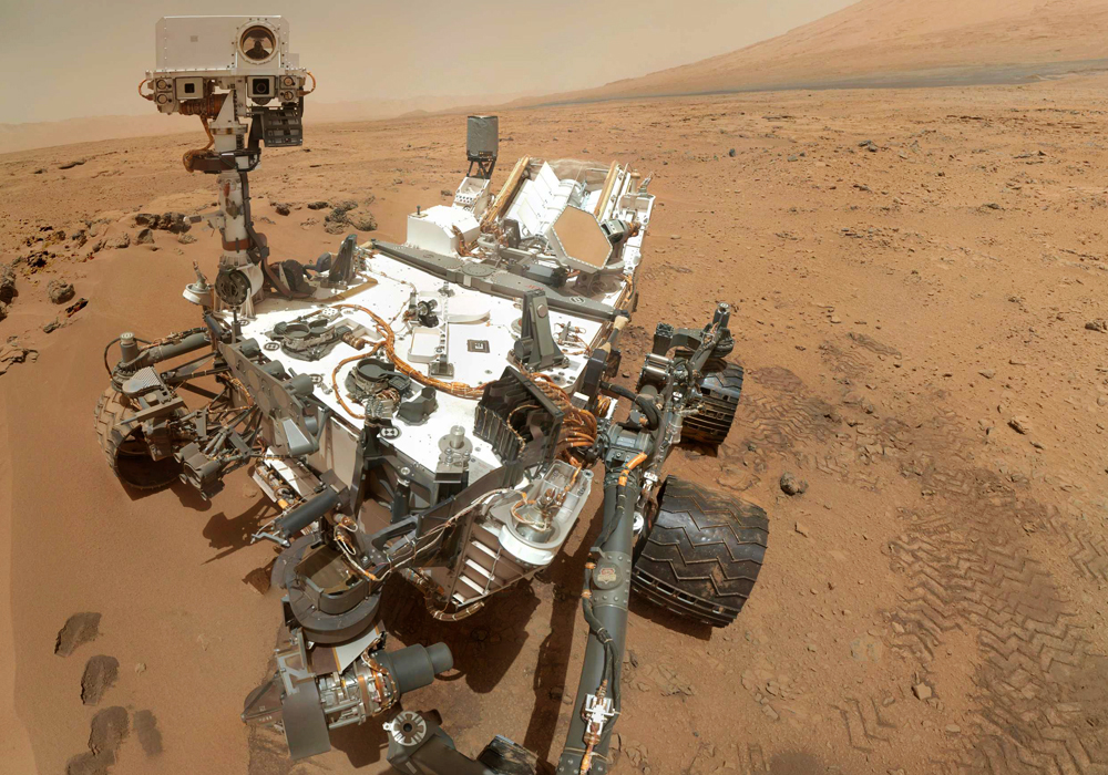 Image: Curiosity rover