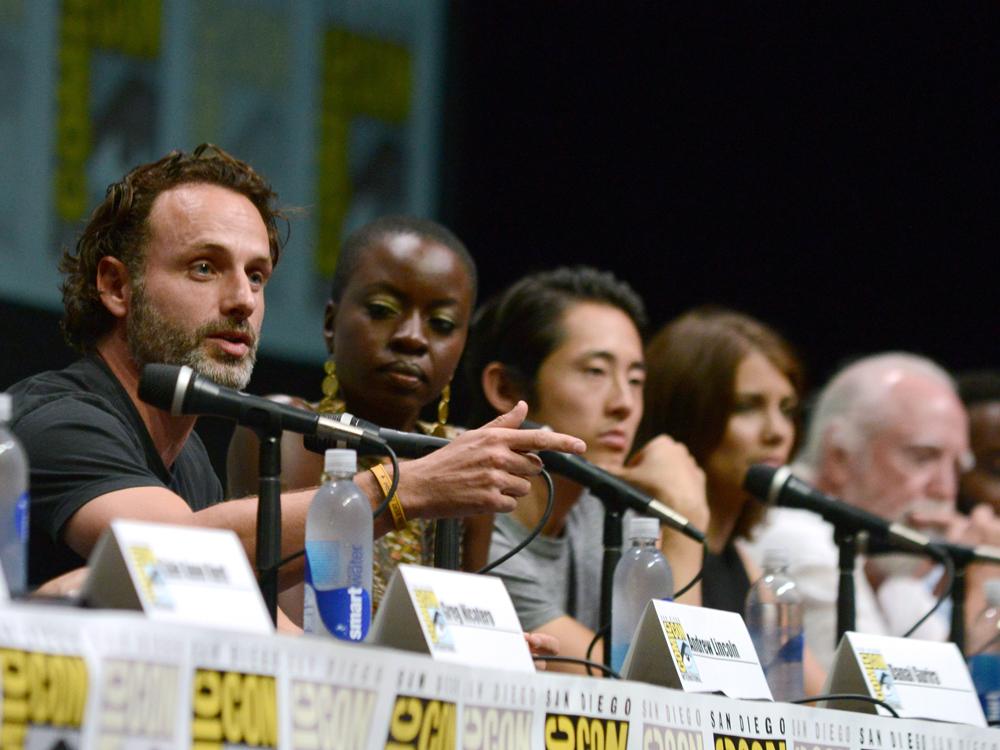 Image: Walking Dead cast