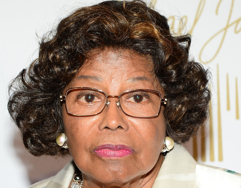 Katherine Jackson arrives at the world premiere of