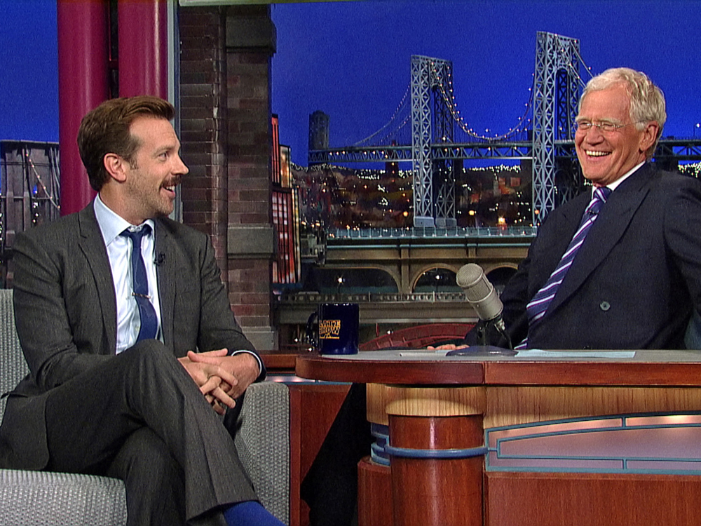 Image: Jason Sudeikis, David Letterman