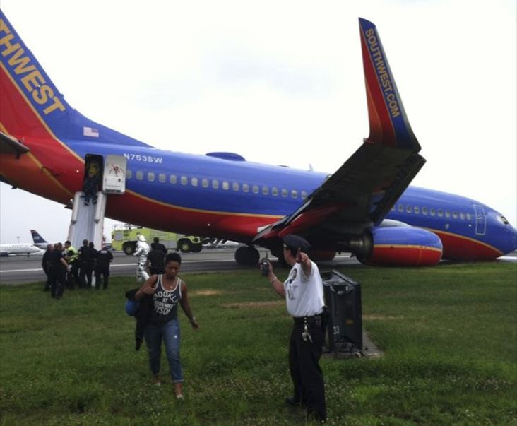 Southwest hard landing aftermath