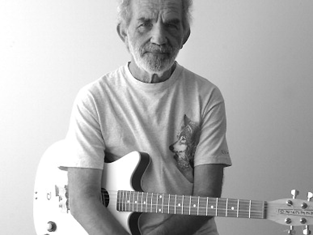 J.J. Cale during Portrait of J.J. Cale at KBCO Studios in Boulder, Colorado, United States. (Photo by Tim Jackson/WireImage)