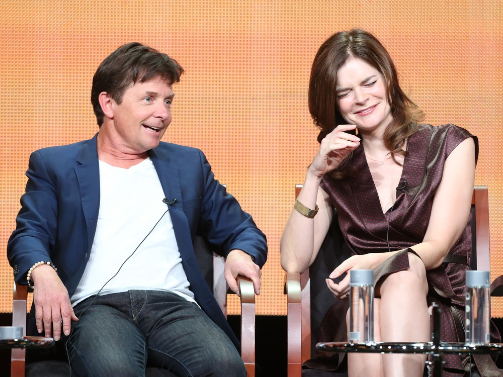 Michael J. Fox is 'really happy with how it feels to be at work'