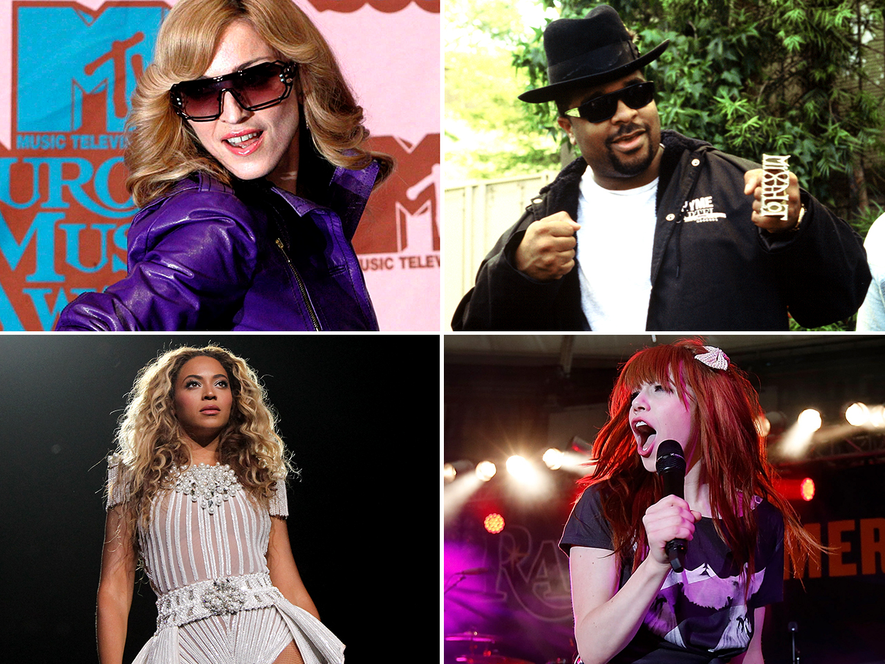 IMAGE:Madonna, Sir Mix-A-Lot, Carly Rae Jepsen and Beyonce