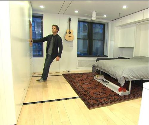 Living With Less Tech Millionaire Downsizes To 420 Square