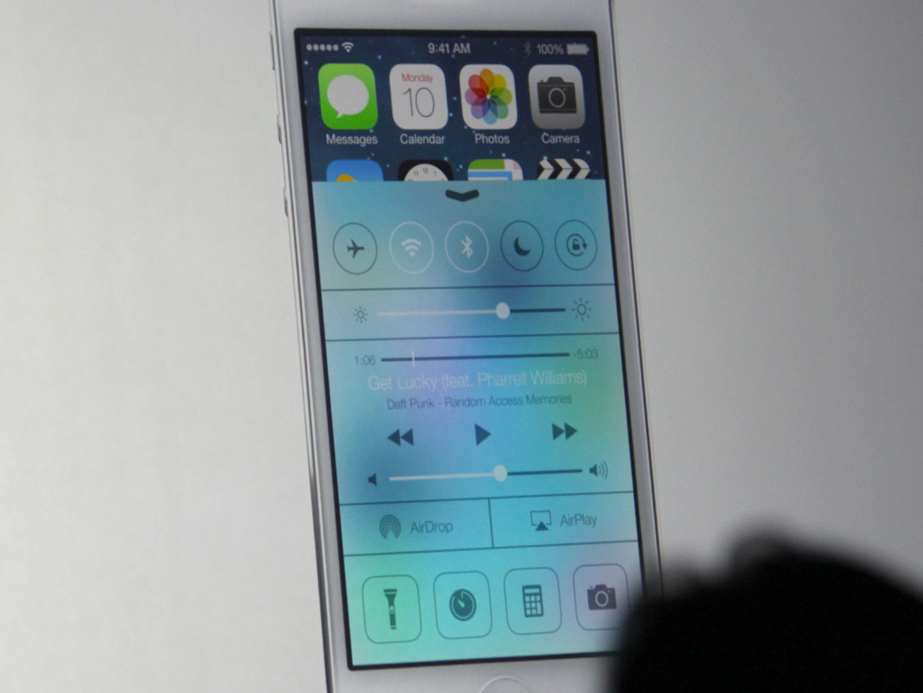 Control Center for iOS 7