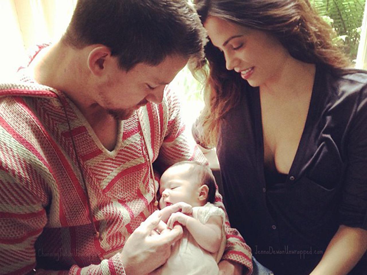 Жена ченнинг татум и их ребенок фото