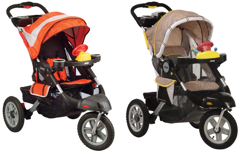 another 'jeep liberty' recall -- this one's a stroller