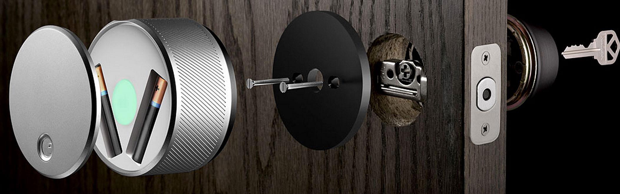 August Smart Lock installati