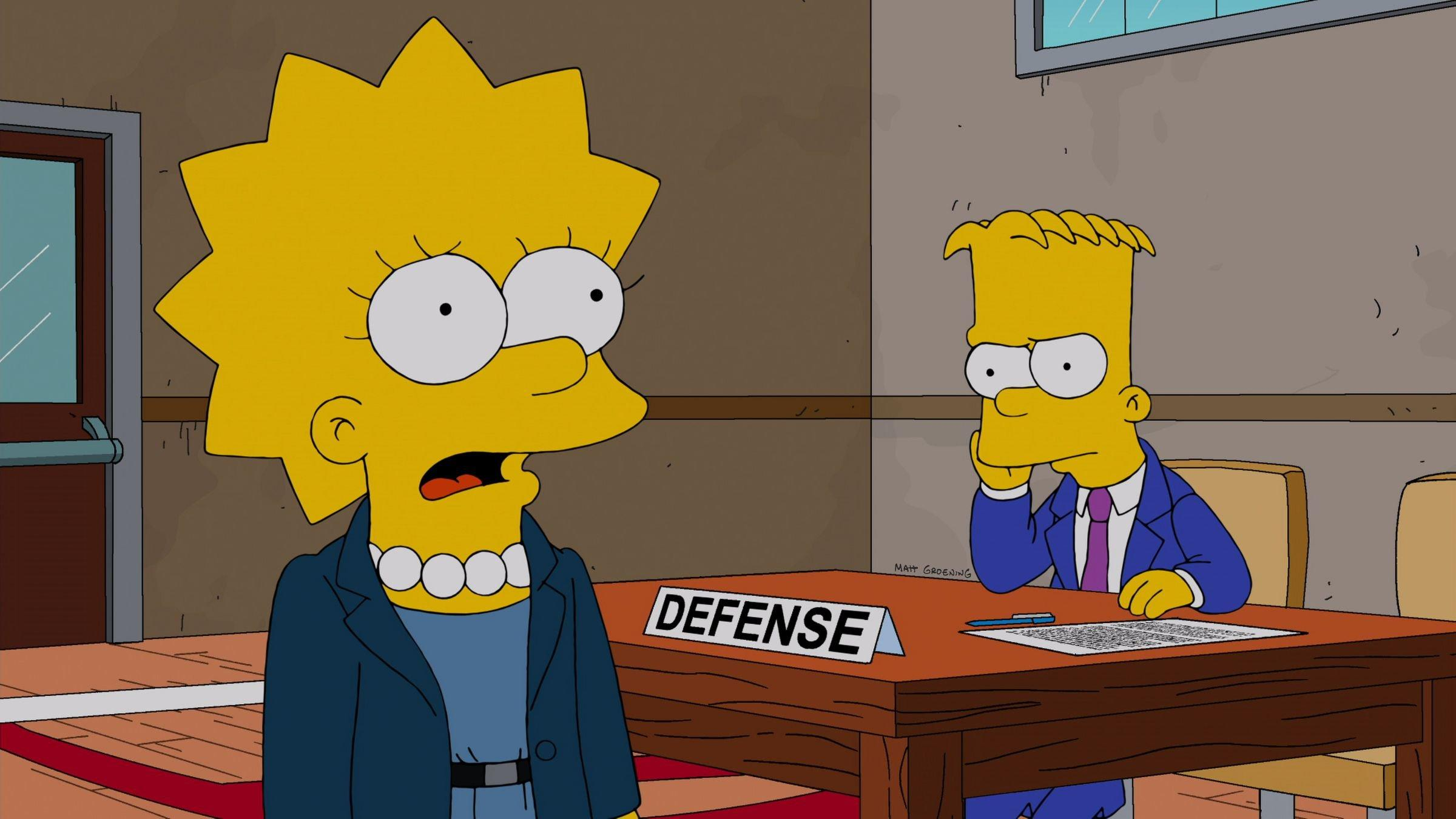 bart simpson appears before mr  burns in british court
