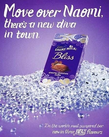 Naomi Campbell 'shocked' by Cadbury chocolate ad